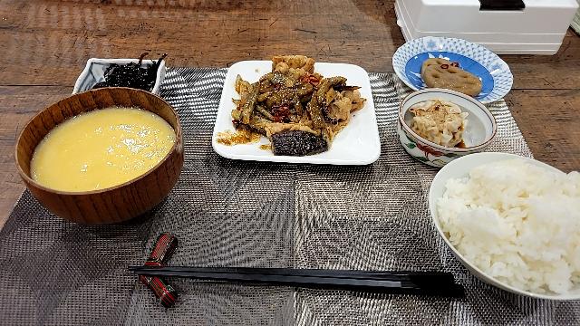 この夕飯を見て、どう思いますか?