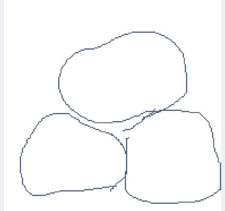 どなたかだんごをぎゅむっとしたような画像を頂けないでしょうか。 二人のスライムに一人のスライムが乗っかっている絵を描こうとしているのですが、だんごを買うのもなぁ、と思ってしまい…。都合よくだんごがおうちにある天才の方々がいらっしゃいましたら、お願いします。 ↓参考画像↓
