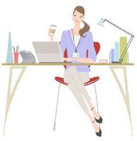 仕事中にこのような姿勢になる人に質問します。 1 脚を組んだ方が落ち着いたり集中できるものですか? 2 入っていつ頃からするようになりましたか? 3 周りに見られないように気を付けますか? 見られても気にせず脚を組むことが多いですか?