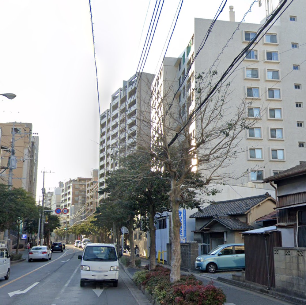 これは福岡市ですけど、この写真だけを見せられて、東京の中野区だと言われても、バレませんか?