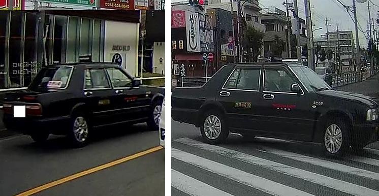 【画像参照】このタクシー会社はどこでしょうか?ちょうちんには『YOKO■■■■』までは確認出来ました。目撃場所は羽村市『小作駅東』の交差点です。 この辺では見慣れないタクシー会社な気がします。