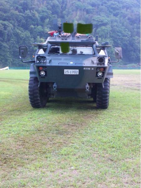 自衛隊のだと思いますが 何という車両でしょうか?