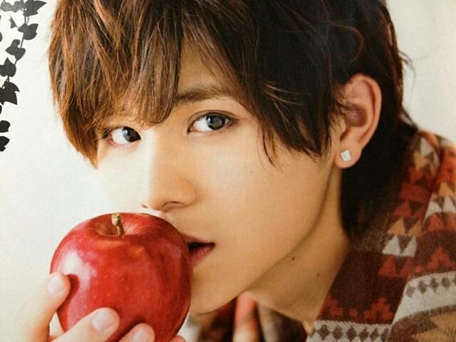 山田涼介君、アップルパイを焼きましたか?(; ・`д・´)