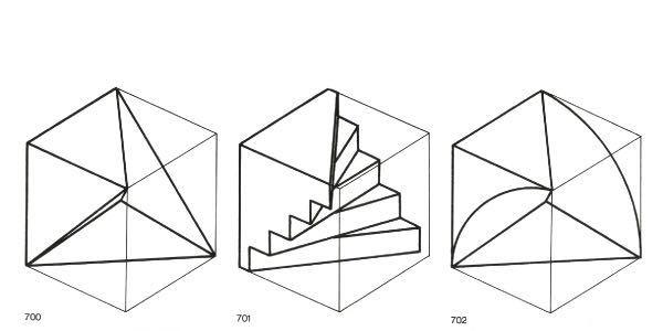 この画像のような立方体を二分割したものを作るためには展開図はそれぞれどのようなものになるのでしょうか? 急ぎの質問の為、お礼としてチップ50枚つけさせて頂きます。