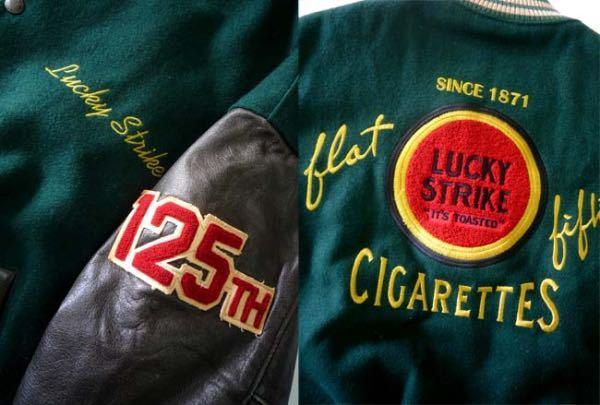 こちらの画像のラッキーストライクのスタジャンを探しています。どなたか売って下さい。
