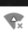 このマークは、Wi-Fiは繋がってるけどなにか問題があるという意味ですか?