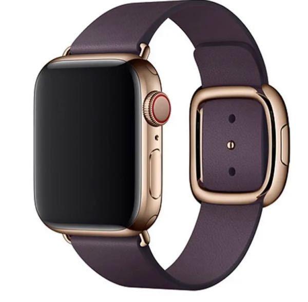 至急お願いします! 最近Applewatchを中古で買おうと思ってて下記の写真みたいにダイヤルに赤いラインがあるのが欲しいのですがこれってどういう種類ですか?写真のバンドは今は気にしないでください