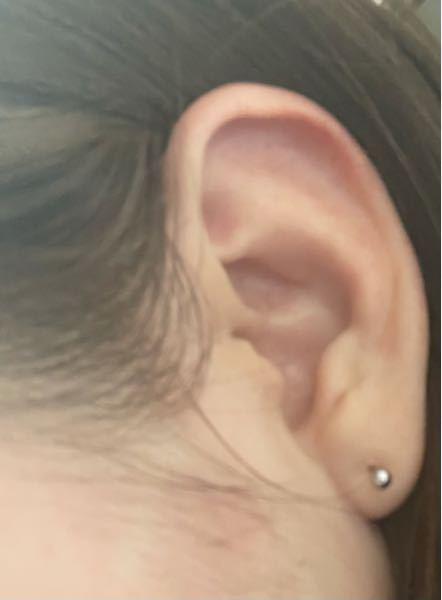 この耳にインダストリアルって開けれますか?