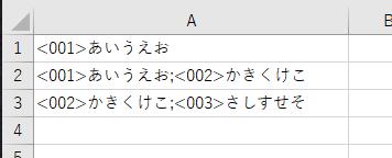 指定した範囲に特定の文字列が何個含まれているかカウントするにはどうすればいいでしょうか? 添付画像のようなデータがあるとして、それぞれの数字が何個あるかカウントしたいです。 これですと001が2個、002が2個、003が1個、という結果が知りたいです。 よろしくお願いします。