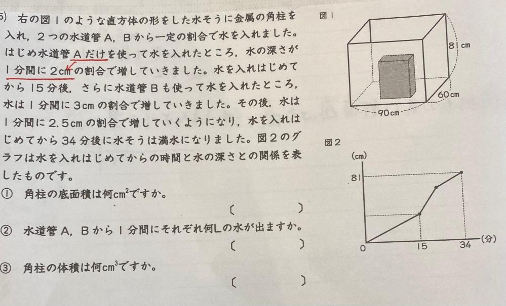 この問題の解き方を分かりやすく教えてください。よろしくお願いいたします。