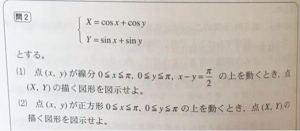 (2)についてx-y=αと固定するらしいんですがなぜですか?