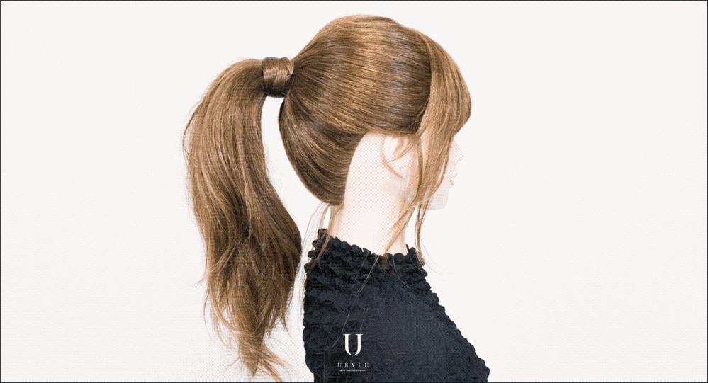 こういうヘアゴムに髪を巻くスタイルが上手くできません というよりできるは出来るのですがすぐに毛が落ちてしまいます なにかコツはありますか