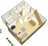 新築一戸建て間取り計画中 階段下のオープンスペースの有効活用方法をどうかご提案願います。 以前も質問したものです。(「ペニンシュラキッチンについてアドバイスをお願いします。」)その節はお世話になりま...