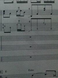 タブ譜の見方あまりわかりません  ここの弾き方わかりやすく教えてください  お願いします
