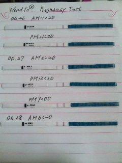 いつから濃くなる 妊娠検査薬