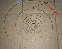 共立 KIYORITZ GC301チェーンソーのリコイルバネの嵌め方がわかりません。巻き込んだ最終部分のバネ(出口側)をどこにセットしたらよいか教えてください。