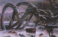 「八岐大蛇」について。 「記紀神話」において、「素戔烏尊に退治される八岐大蛇」の話しの「元ネタ」とは何なのでしょう? 一説によると「斐伊川の治水の例え話」というモノもあるようですが、それだと「八岐」...