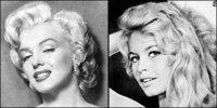 マリリン・モンローとブリジット・バルドー、共演してほしかった・・・もし共演したらモンローが主演になるのでしょうか?それともW主演かなぁ