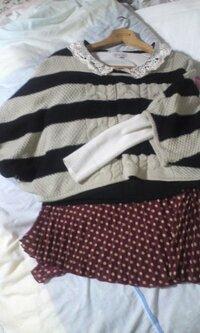 この服、第一印象、またゎアドバイス、感想、評価などお願いします(>ヘ<)。゜