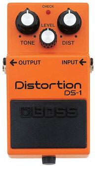 ギター エフェクター BOSSのディストーション「DS-1」のロックギタリストからの全体的な評価はどんな感じですか?