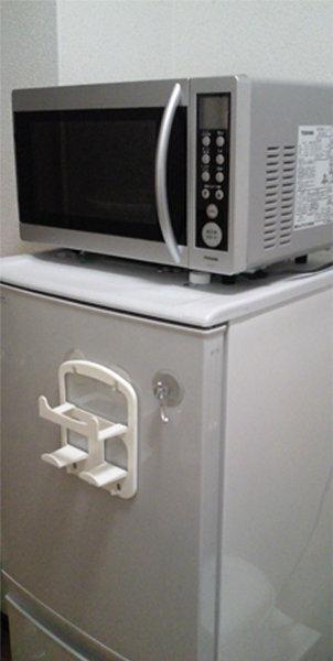 に 冷蔵庫 の レンジ 上 オーブン