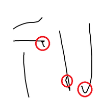 ペンタブについて質問です。なぜか線を引くと触れていないときに線が後から描かれるんですが、 これは壊れてしまったんでしょうか? 前まではこんなことはなかったのですが、 もし直す方法があるなら教えてください! よろしくお願いします!!  ↓のようなやつです・・。雑ですいません。