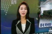 韓国在住の方  このアナウンサー(ニュースキャスターかな)の名前を教えて下さい。