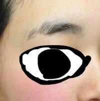 高校生です。  眉毛失敗しましたー(T ^ T)   明らかに変ですよね