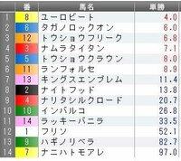 東京10RブリリアントSの予想を教えて下さい。 オッズは前日土曜日、夜11:10現在です。  GW期間中の最後のJRA開催ですね(^-^*) NHKマイルC意外にも面白そうなレースが目白押しです♪ 好配当をゲットしてGWを締めたいと思います。   どんなもんでしょうか?   みなさんの印や買い目などを教えて下さい。   ◎(本命) ○(対抗) ▲(単穴) △(連下)...