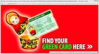 マトリョーシカ USAグリーンカードの宣伝 最近、PCでInternetExploreeを使うときにいつもグリーンカードの宣伝?みたいなページがアクセスもしてないのに立ち上がって怖いです。ウィルスなのではないかと思っています。  セキュリティソフトはちゃんとしたもの(有料の大手メーカーのものです。)を使っていますが、心配です。 ウェブページに写るマトリョーシカしかも少し気持ち悪くて…。...