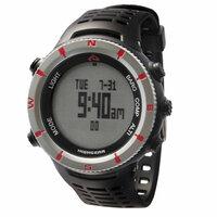 【登山用腕時計】  スントとハイギア(モンベル)では、時計の機能はほとんど同じなのに、値段が全然違います。(スントが高い) なんでですか?ハイギアのほうが性能が劣っているのですか? 教えてくださいm( _ _)m
