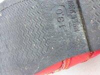 ベランダに置きっぱなしにしていた靴の底に、小さい白い虫がたくさんついていました。 何の虫でしょうか? わかりづらいかもしれませんが、写真を添付します。