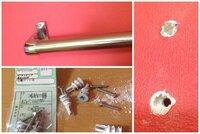 アンカー 石膏 ボード 石膏ボードの壁にアンカー取付失敗、拡大した穴を補修してネジが効くようにするアイテム!