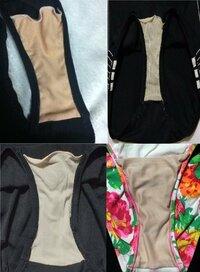 この画像のように、ワンピース水着やスクール水着のクロッチ部分が上部が切れてる ポケット(袋状)になってるのは何故ですか?なぜこのようになってるのですか? 砂抜きでは無いようです・・・?