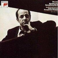 ピエール・ブーレーズがフィルハーモニア管弦楽団を指揮した ベートーヴェン:交響曲5番「運命」の感想をお願いします。 発売は40年ぐらい前ですが、当時はバーンスタインのファンで 全く聴いたことがありませんでした。 もはやカタログにもありませんし、中古で1万円なんてばからしいので 一言で言ってください。