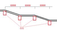 RCのラーメン構造なんですが  画像のようなスロープの時って(「ここ」の位置に)梁必要ですよね?  というかラーメンなのにこの梁は変ですよね?  どうしたらよいでしょうか?