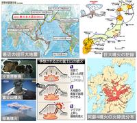 まもなく起きる日本列島の巨大地震群、それに関連する巨大噴火は起きるか? 巨大噴火リスクのある原発は?;川内、泊、東通、玄海原発、、   ・・・  いつか確実に起きるが、いつ起きるか?は誰もわからない。 起きたら被害は甚大になる。日本列島の国土は全域にわたり高濃度に放射能汚染され、永遠に人は住めなくなる。 噴出した溶岩や火砕流が冷えて、数千年経って、木々が生えても、もう永遠に人は...