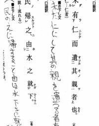 国語の古典の問題です 下記の画像で口語訳の訳すやり方がわかりません 教えてください