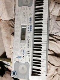 カシオのキーボードでLK203TVを買ってMIDIでネットでダウンロードして曲をいれたのですが 音は、なるのに鍵盤が光りません 光らせる方法は、何かありますか?