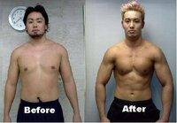 筋トレにくわしいかた。 このからだって体脂肪率なんパーセントくらいからなんパーセントに なったのでしょうか もともと筋肉はすこし?かなり?ありますよね?