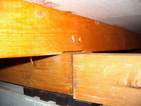 フローリングの床鳴りで床下に潜って点検したら 画像のような状態でした。 自分で補修したいのですが、どのような方法が 良いでしょうか?