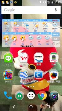 画面上にでている星マークはなんですか? androidスマホ nexus5を使っています。 回答お願いします