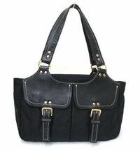 サザビーのバッグについて  サザビーのバッグを人から譲り受けました。 いつ頃販売されていたものか分からず、少し古い型に見えるかな・・・? と使うのをためらっています。 色は黒、素材はナイロン&レザー...