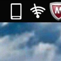 スマホの左上に Wi-Fiマークに\斜線がはいった マークが表れたのですが、どういう意味か ご存じの方 回答お願いします。