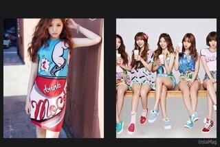 k-popアイドルたち,服,ブランド,モスキーノ,ワンピース,画像