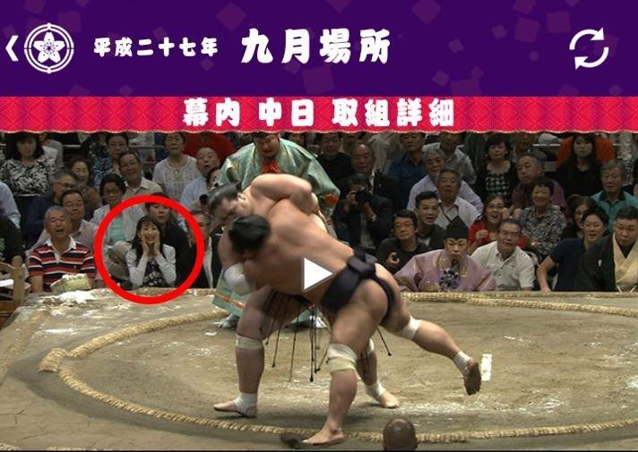 ケンズファミリーの ともこ は、大して売れていないのに国技館の特等席(=金持ちの席)で大相撲観戦