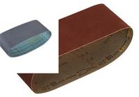 マキタのサンディングベルトについて  マキタ A-19657 粗仕上 粘度60 WA木工用 76×457mm 10枚入 9911用 というのをネットで購入しようとしているのですが、値段が全く違います。 楽天で、 上記の型番?とかすべて一緒なのですが、画像の色が違います。 載せます。 無理やり1枚にしたので、見辛いのですが、右の赤いのが安いです。左の緑のが高いです。自分とこにある...