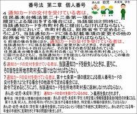 マイナンバー(個人番号) 平成25年)2013年5月24日(番号制度関連4法案を第183回国会に提出した。 自由民主党、公明党の与党のほか、野党のうち民主党、日本維新の会、みんなの党などの賛成により成立した(日本共産党、生活の党、社会民主党などは反対)結果、2015年(平成27年)10月5日に日本国内の全住民に対する個人番号の指定が始まった。そして、2016年(平成28年)1月以降に個人番...