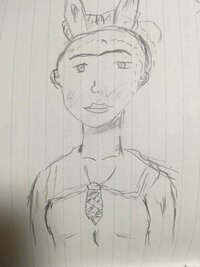 授業以外で生まれて初めて絵を描いてみました 評価よろしくお願いします