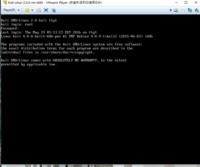 kali linux について質問です。  いまVMwareplayerを使って仮想マシンを起動しようとしているのですが、うまくkali linuxのデスクトップの画面が表示されません。 root toor でログインするとこのような表示がされるのですが、解決方法を教えてください。